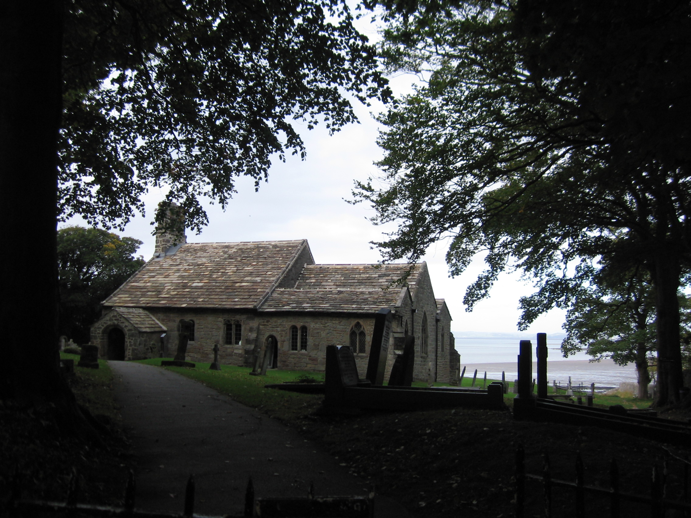 St. Peter's church in Heysham