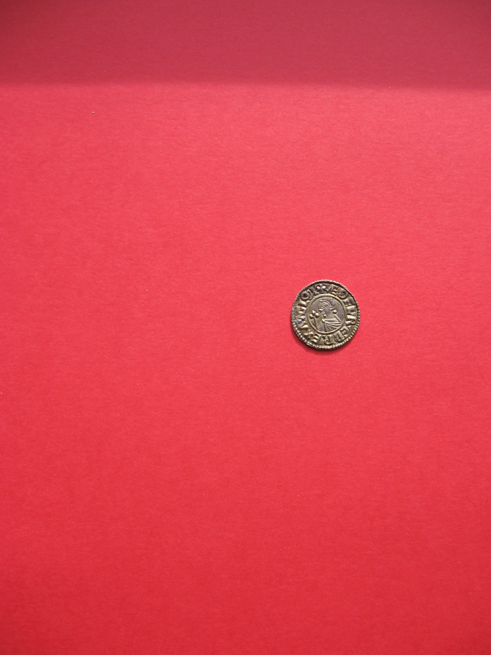 viking coin aethelred