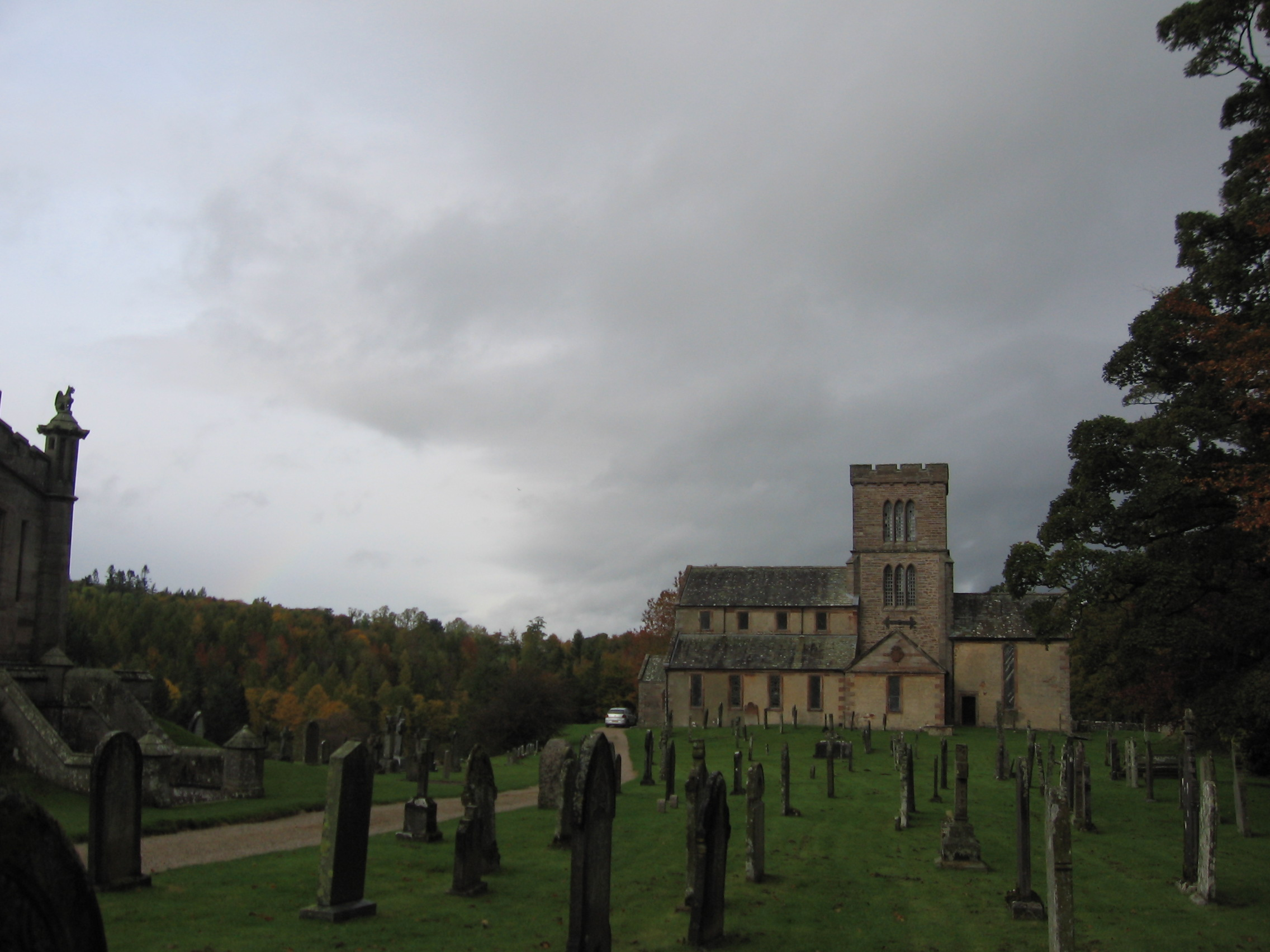 St. Micheal's church in Lowther
