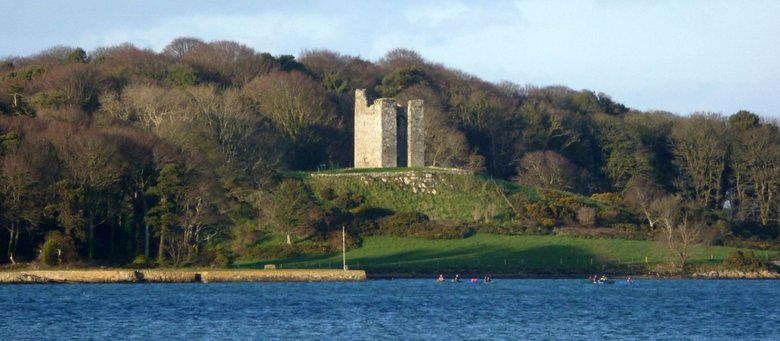 Audley's Castle Strangford Lough