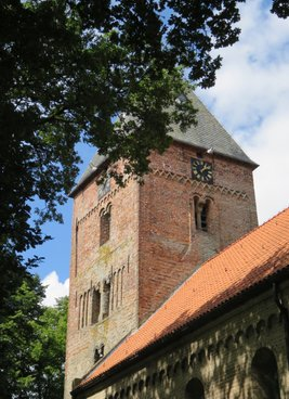 Romanesque church at Vries