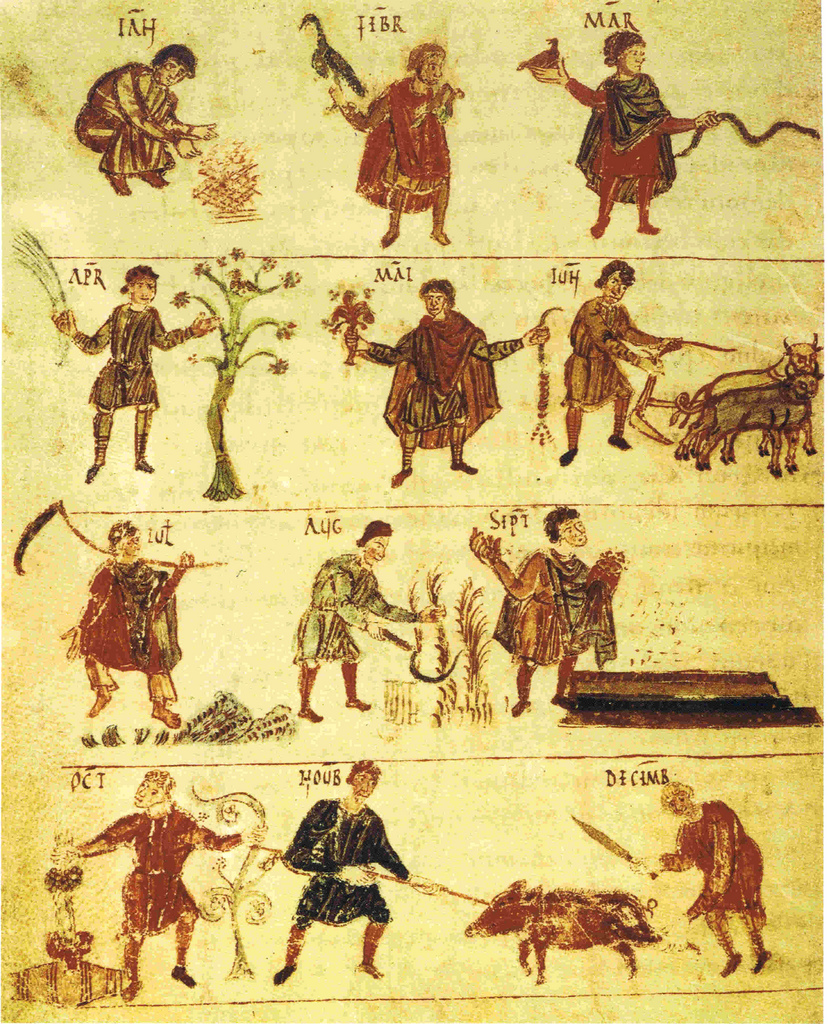 Middle Ages farming