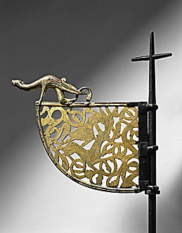 viking age weather vane Tingelsted
