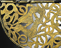 viking age weather vane Tingelsted detail