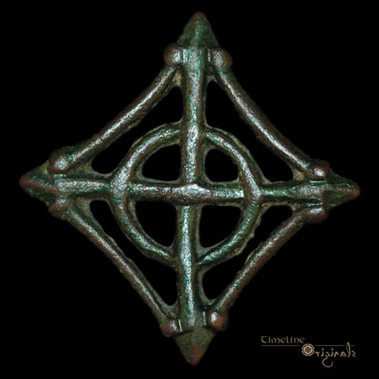 Viking 'interlaced circle'  brooch