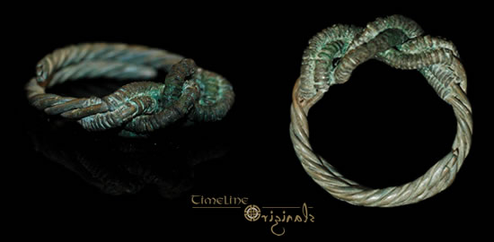 Viking 'twisted wire' ring