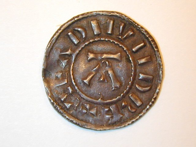 viking coin St. Edmund memorial penny