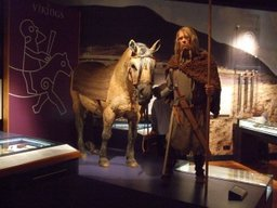 Viking with horse