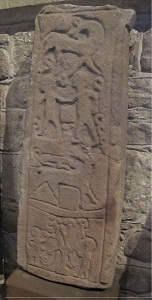 Dacre church viking cross fragment 1