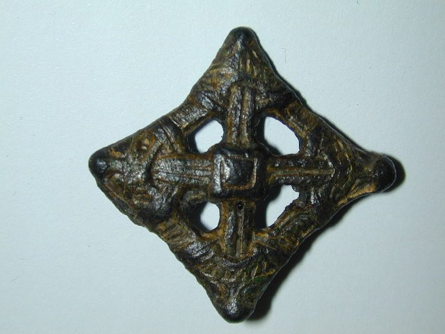 viking lozenge brooch